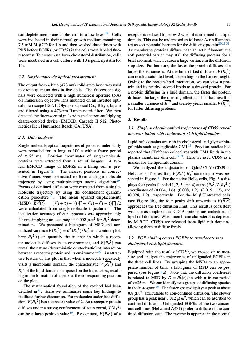Example of IP International Journal of Orthopaedic Rheumatology format