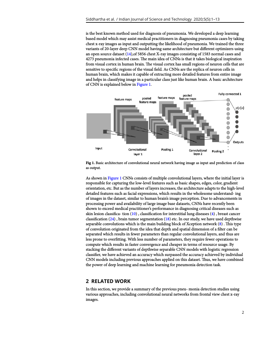 Example of Indian Journal of Science and Technology format