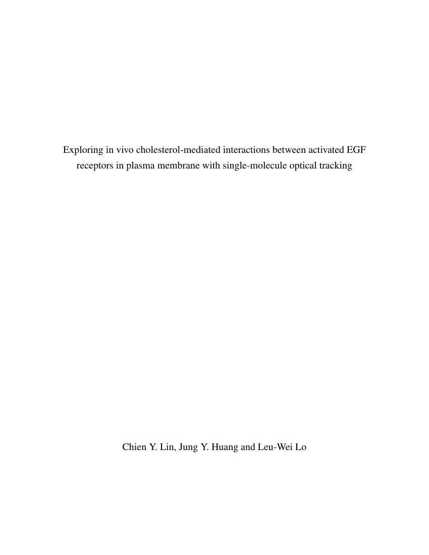 Example of Default Format for The University of Chicago Press format
