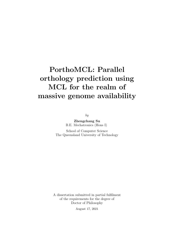 Example of QUT PHD Dissertation Template format