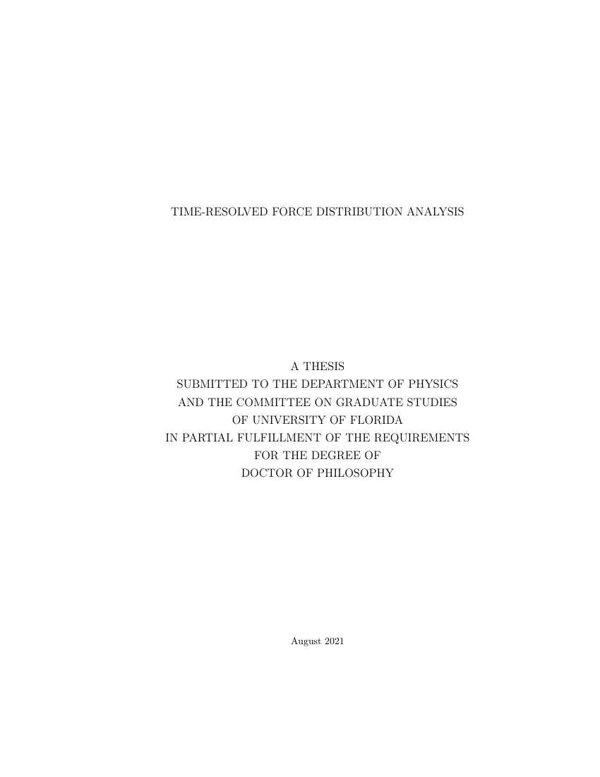 Example of Marquette Dissertations and Theses format