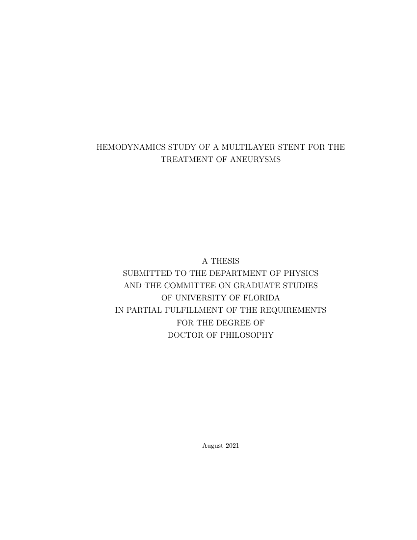 Example of Otto-Von-Guericke University DBSE Thesis format