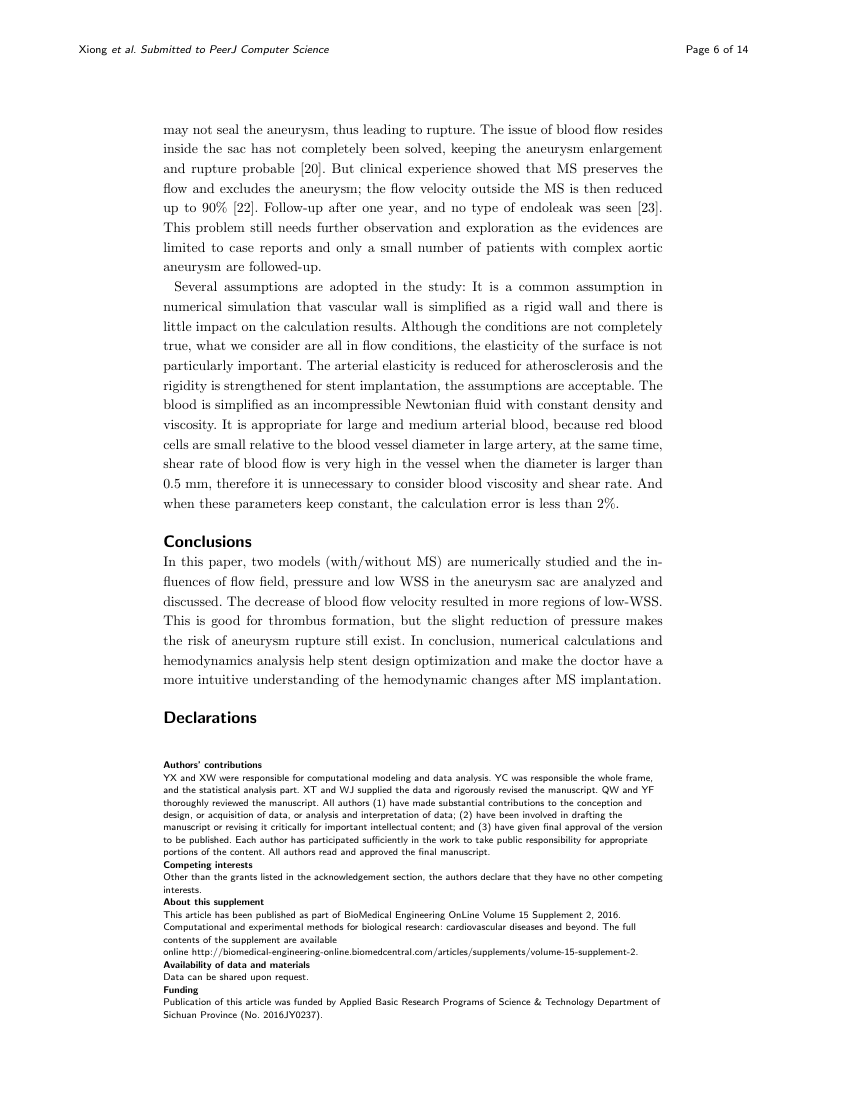 Example of Journal of the International Society of Sports Nutrition - short report format