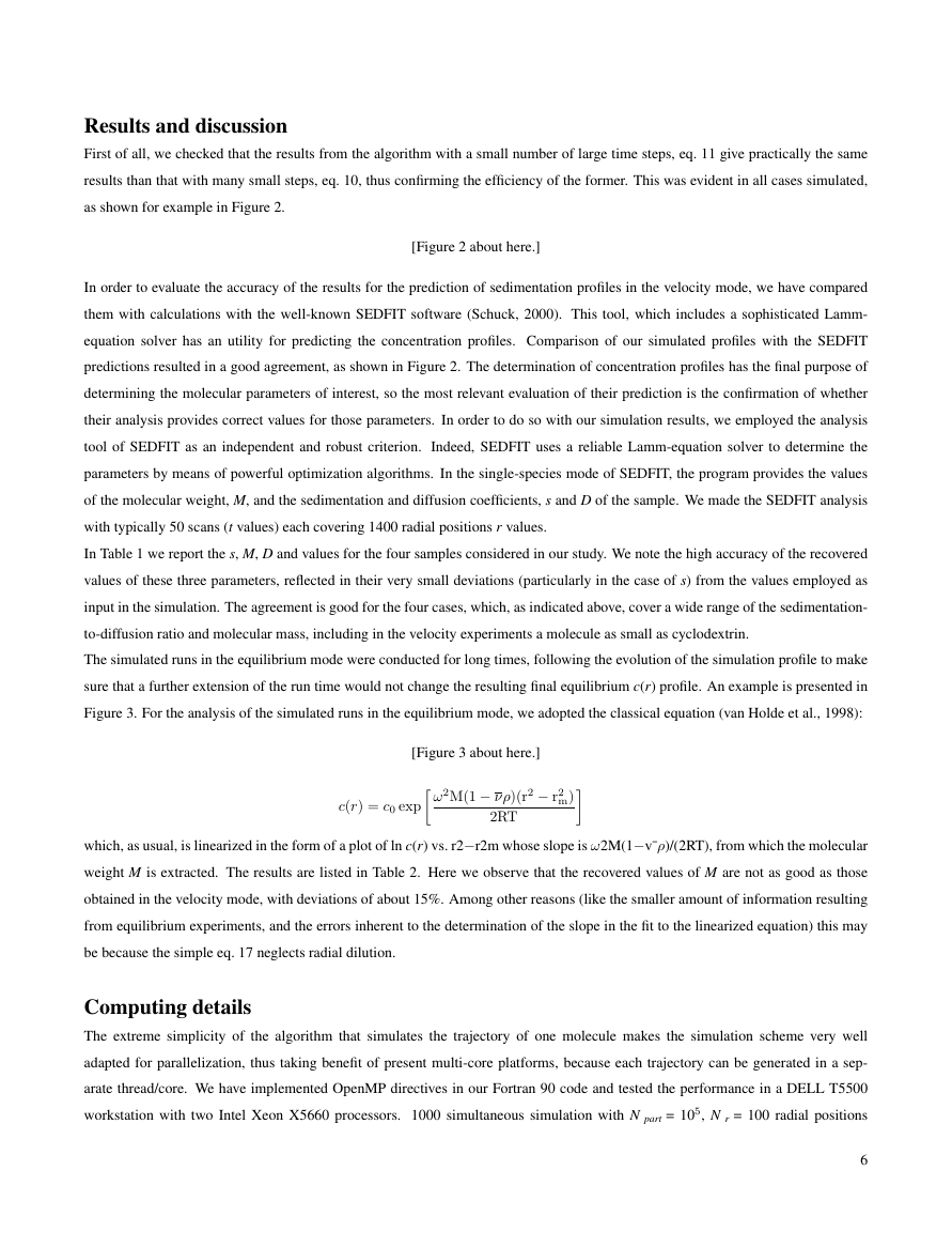 Example of Journal of Experimental Biology format