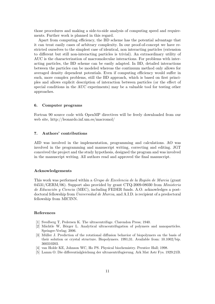 Example of Africa Journal of Management format