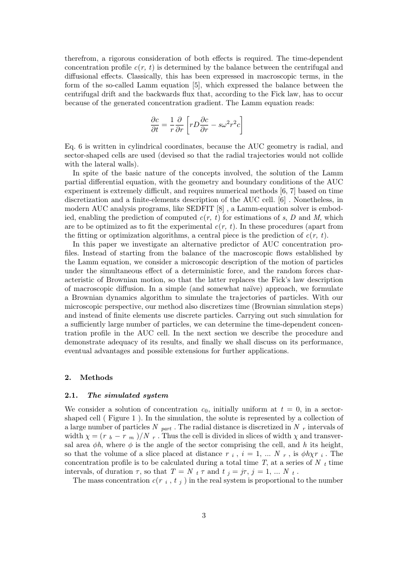 Example of Applied Mathematical Finance format