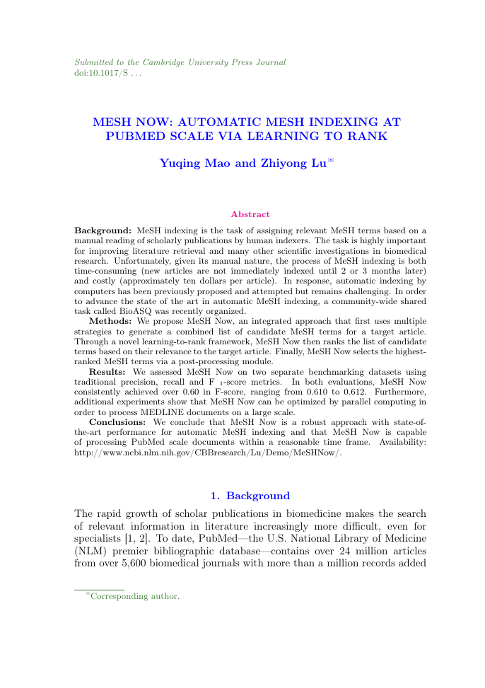 Example of East Asian Journal on Applied Mathematics format