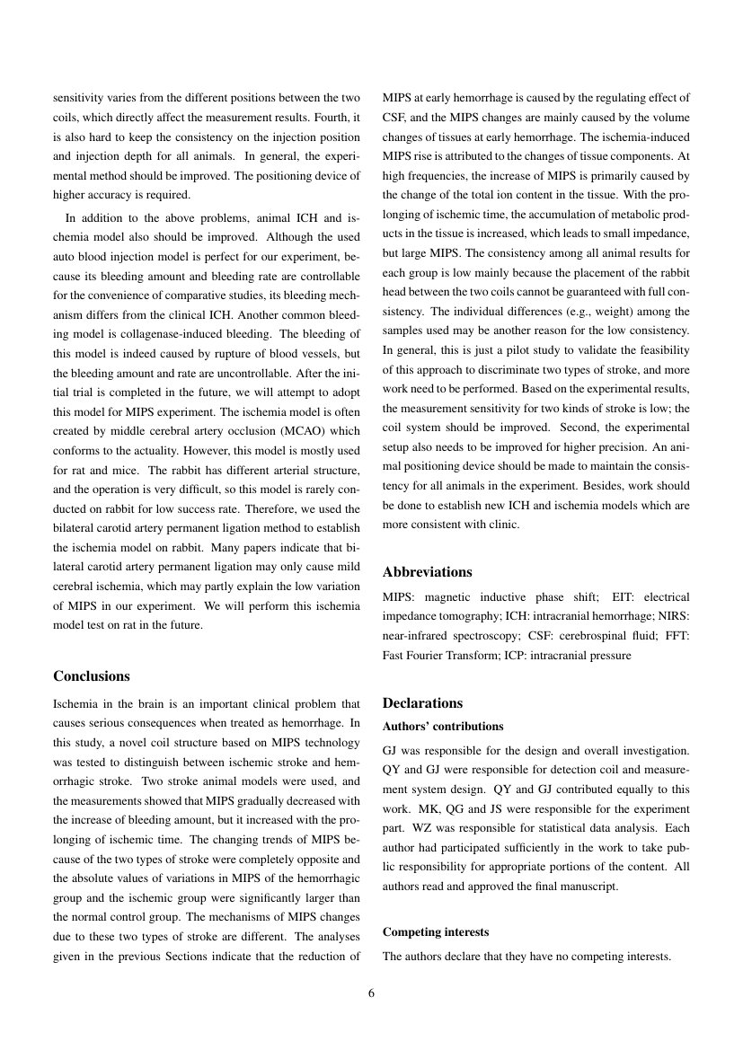 Example of Journal of Neuroscience & Clinical Research format