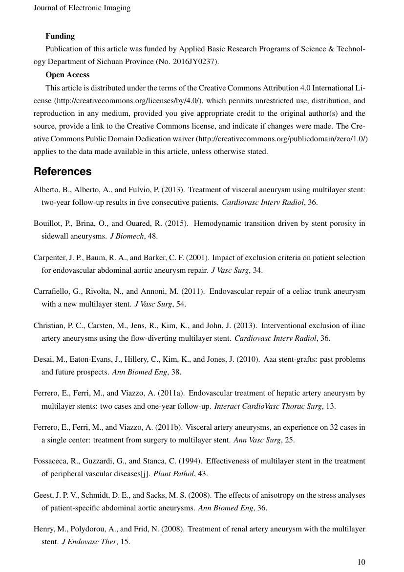 Example of International Journal of Fuzzy System Applications (IJFSA) format