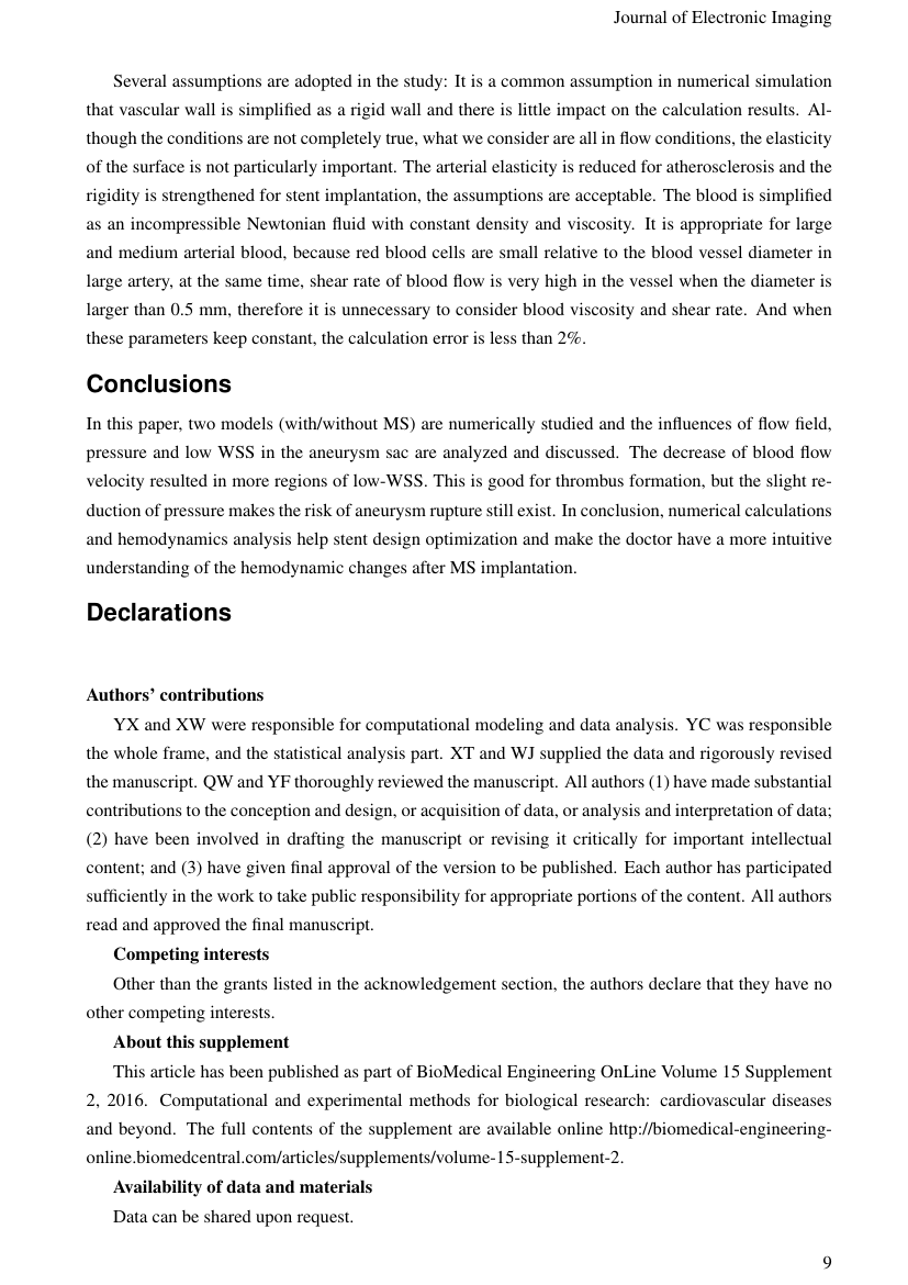 Example of International Journal of Standardization Research (IJSR) format
