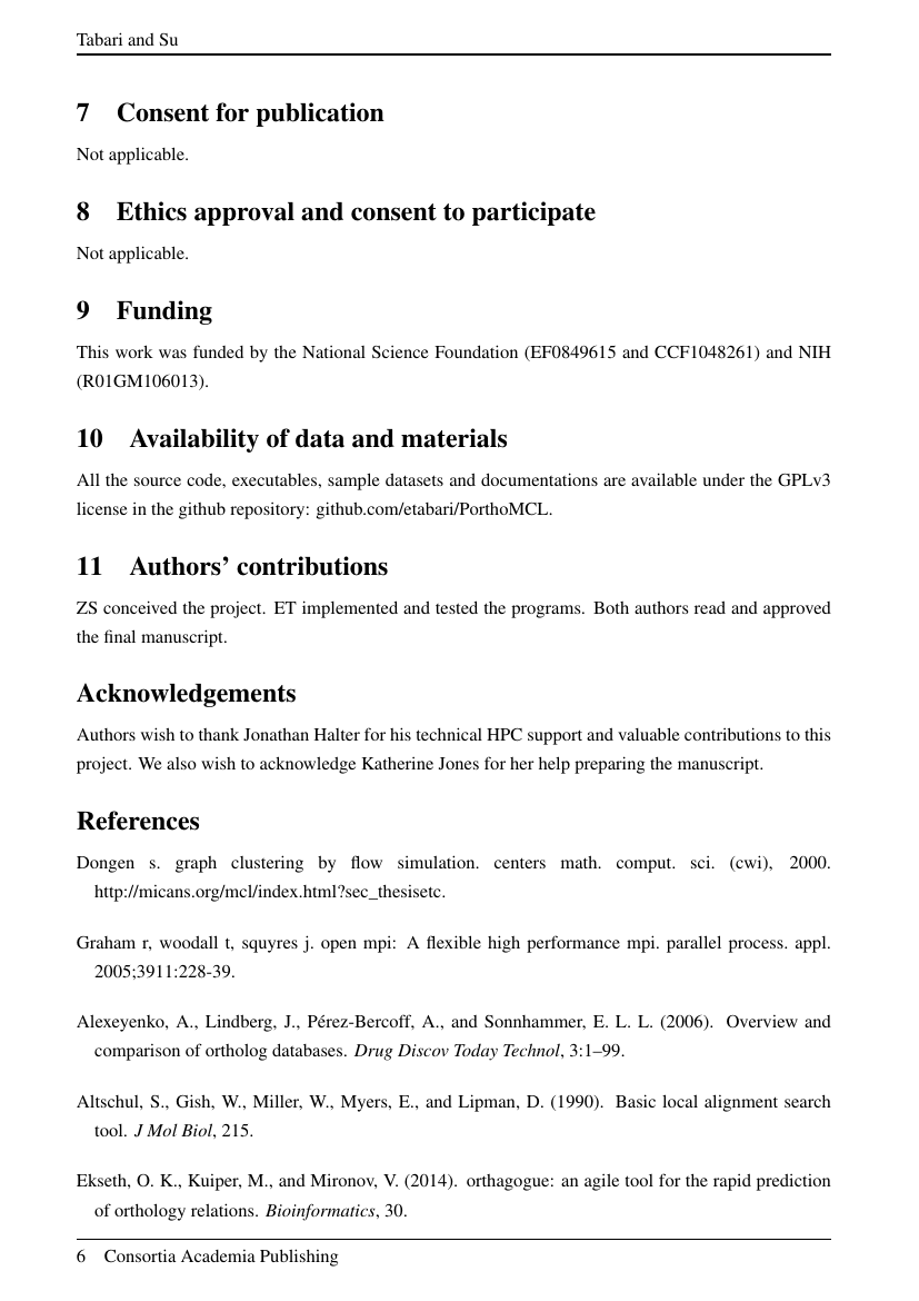 Example of International Journal of Research Studies in Computing (IJRSC) format