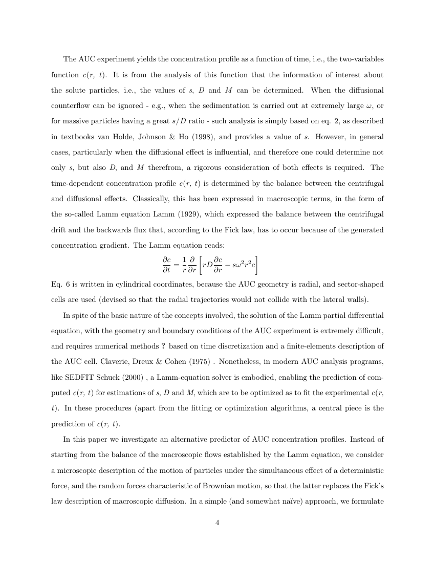 Example of Journal of Statistical Software format
