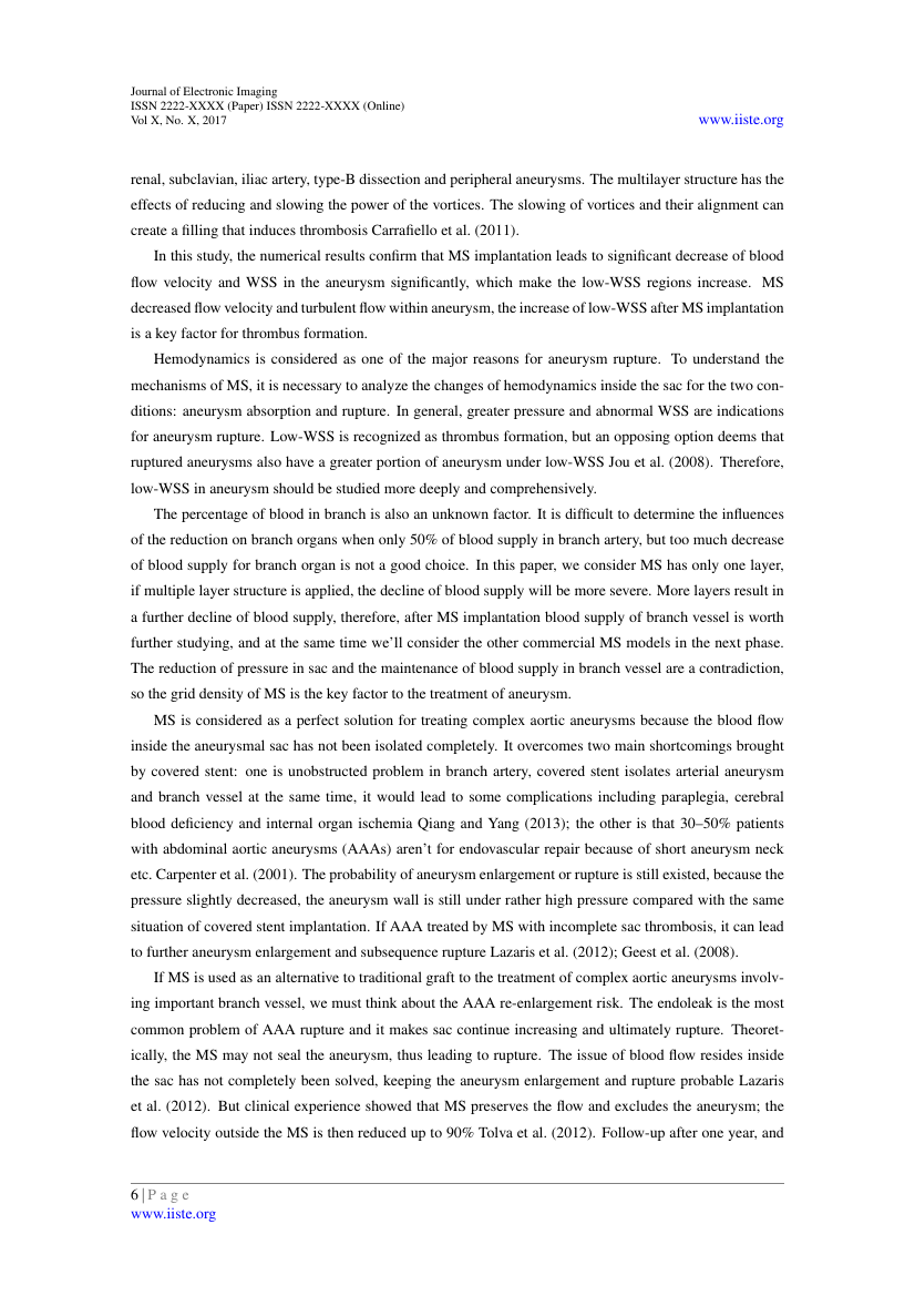 Example of Journal of Economics and Sustainable Development format