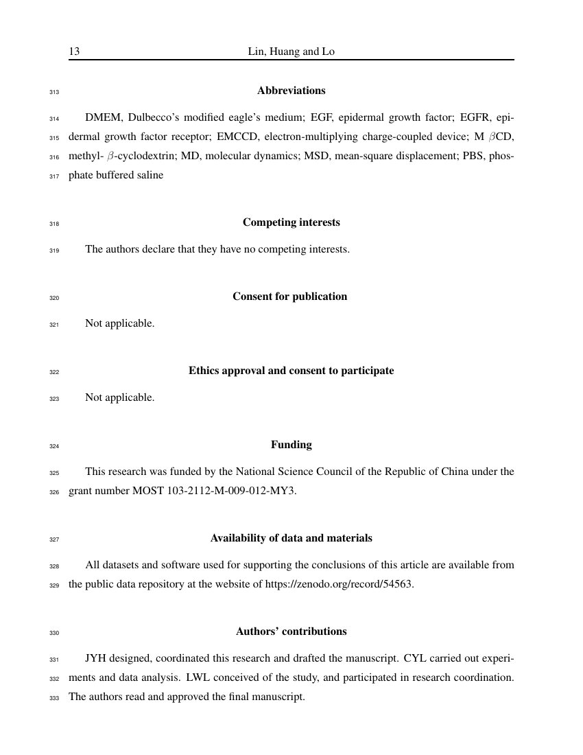 Example of Therapeutic Recreation Journal format
