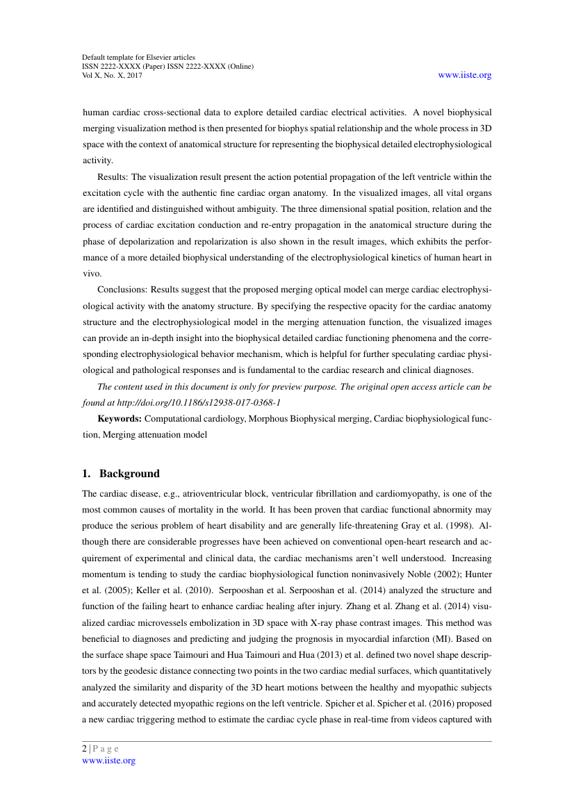 Example of Journal of Biology, Agriculture and Healthcare format