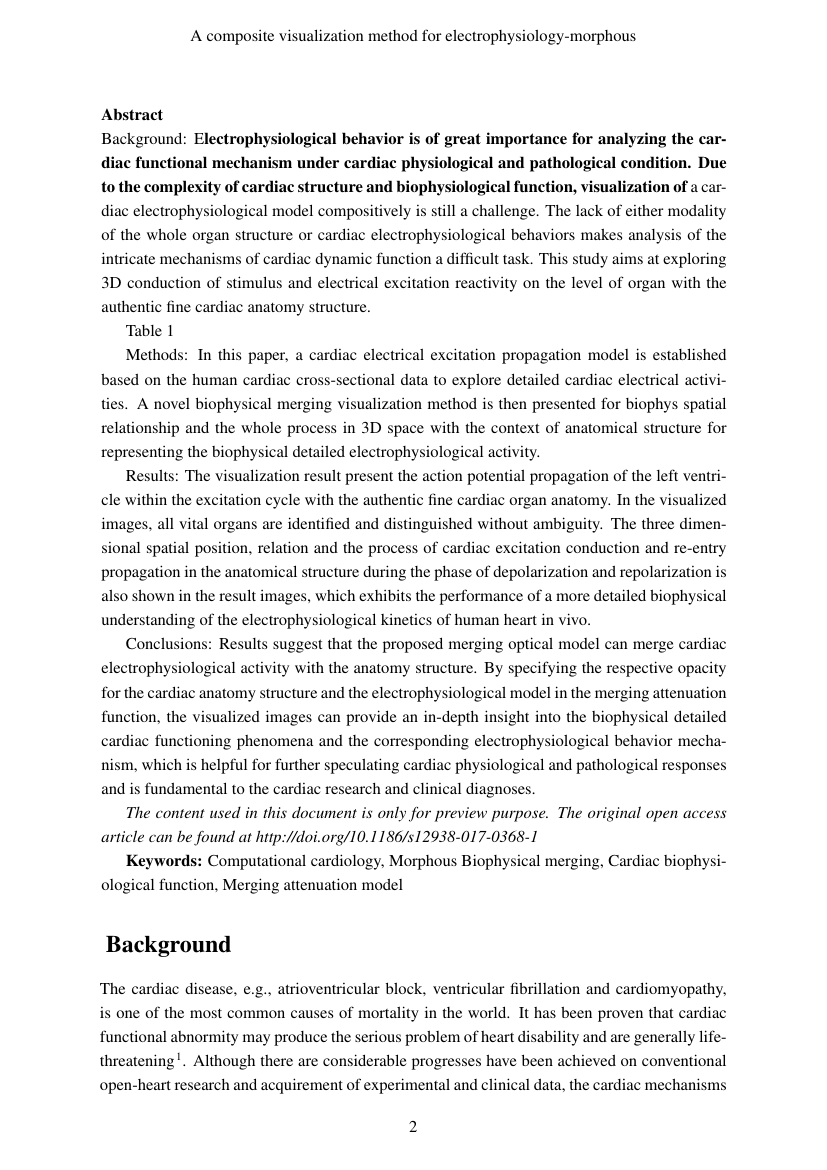 Example of International Journal of Community Medicine and Public Health format