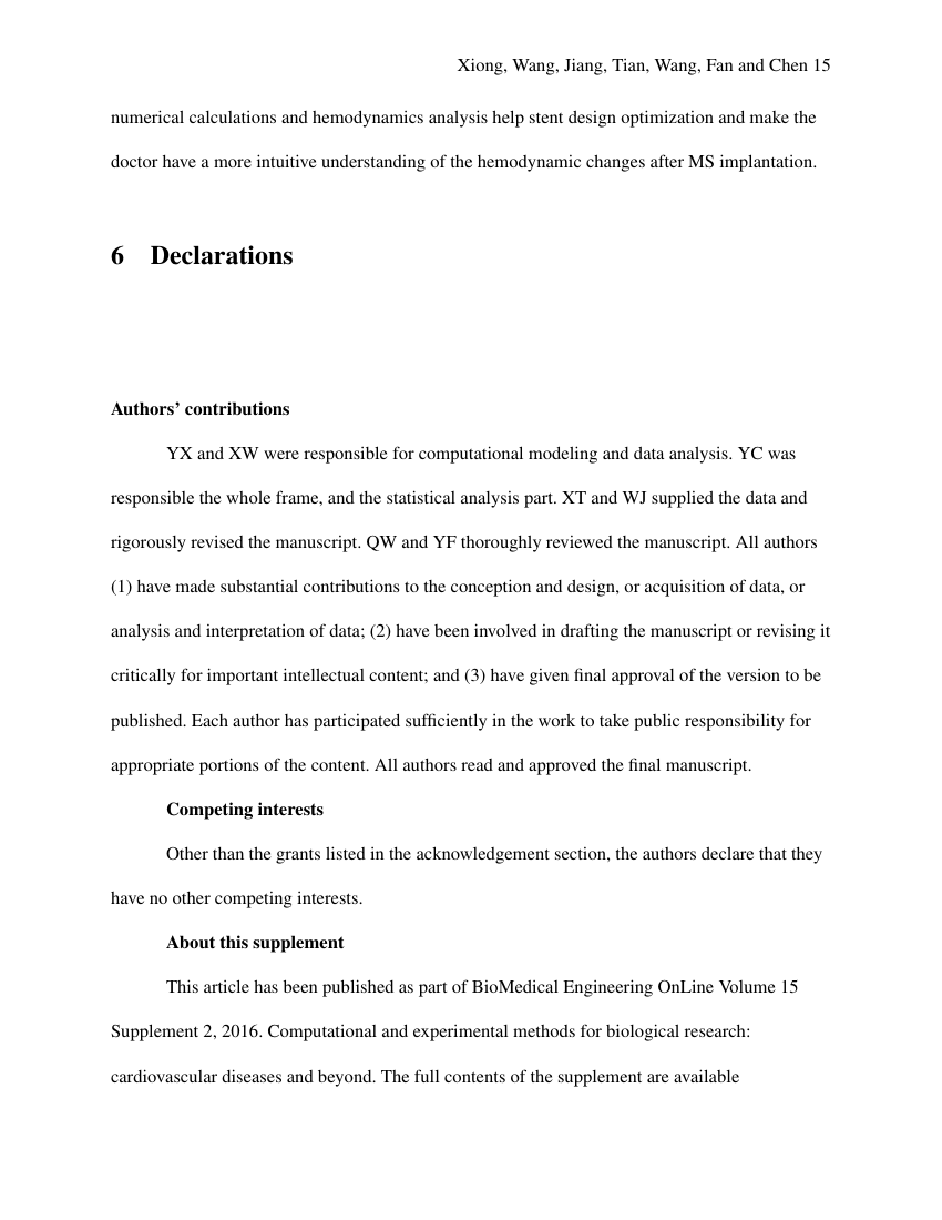 Example of Industrial Design (BS) (Assignment/Report) format