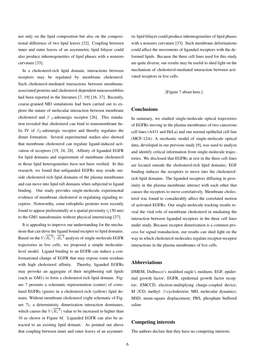 Example of Journal of Athletic Enhancement format