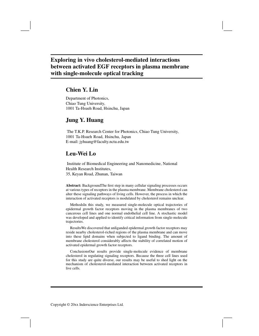 inderscience publishers international journal of mobile network