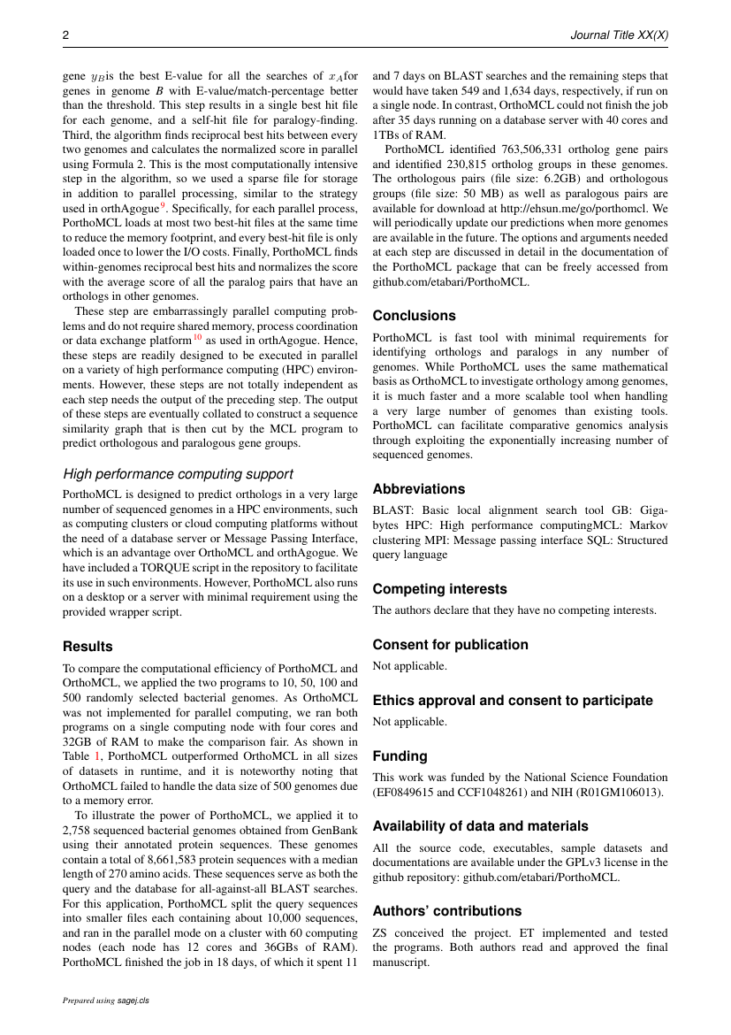 Example of Journal of Clinical Urology format