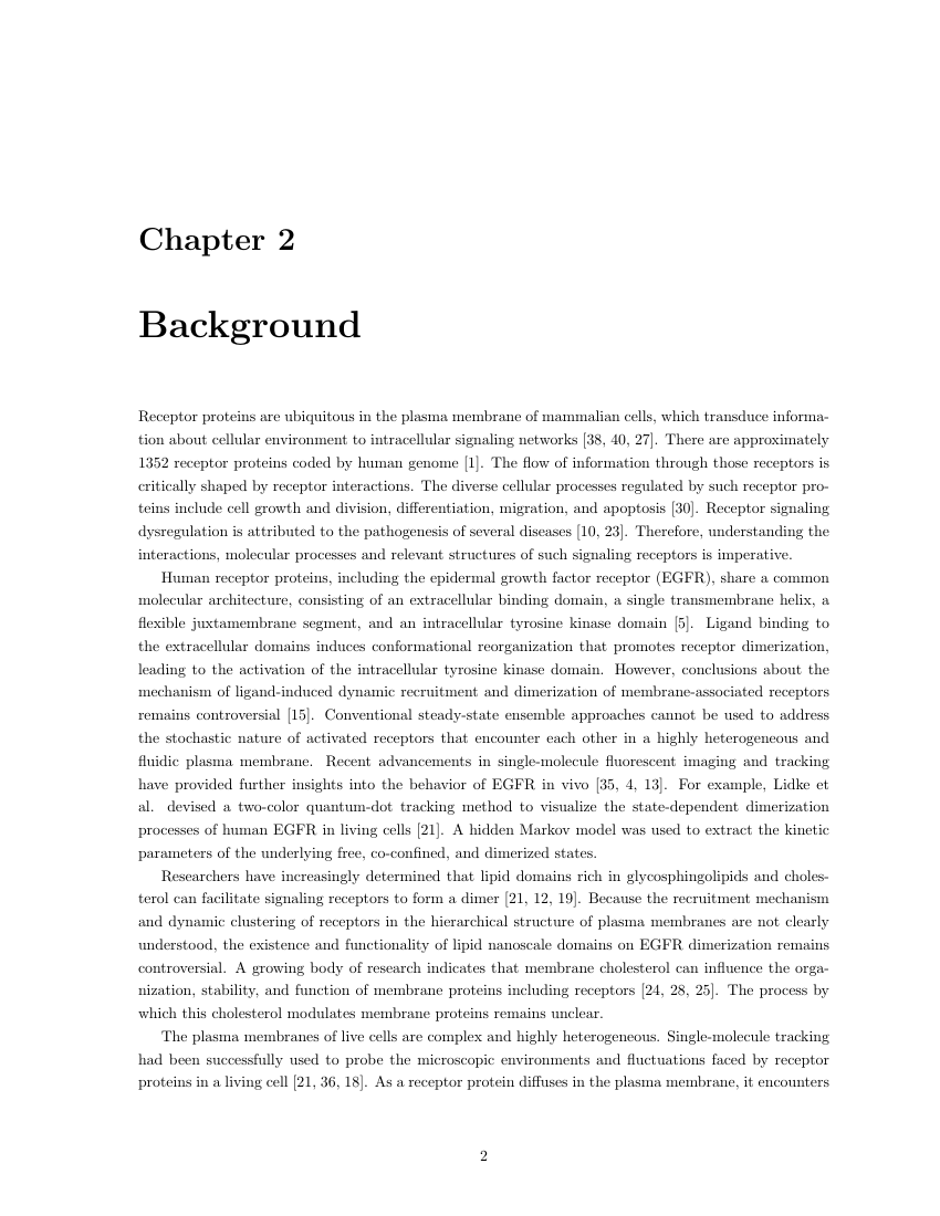 Example of Thesis Format for University of Toronto format