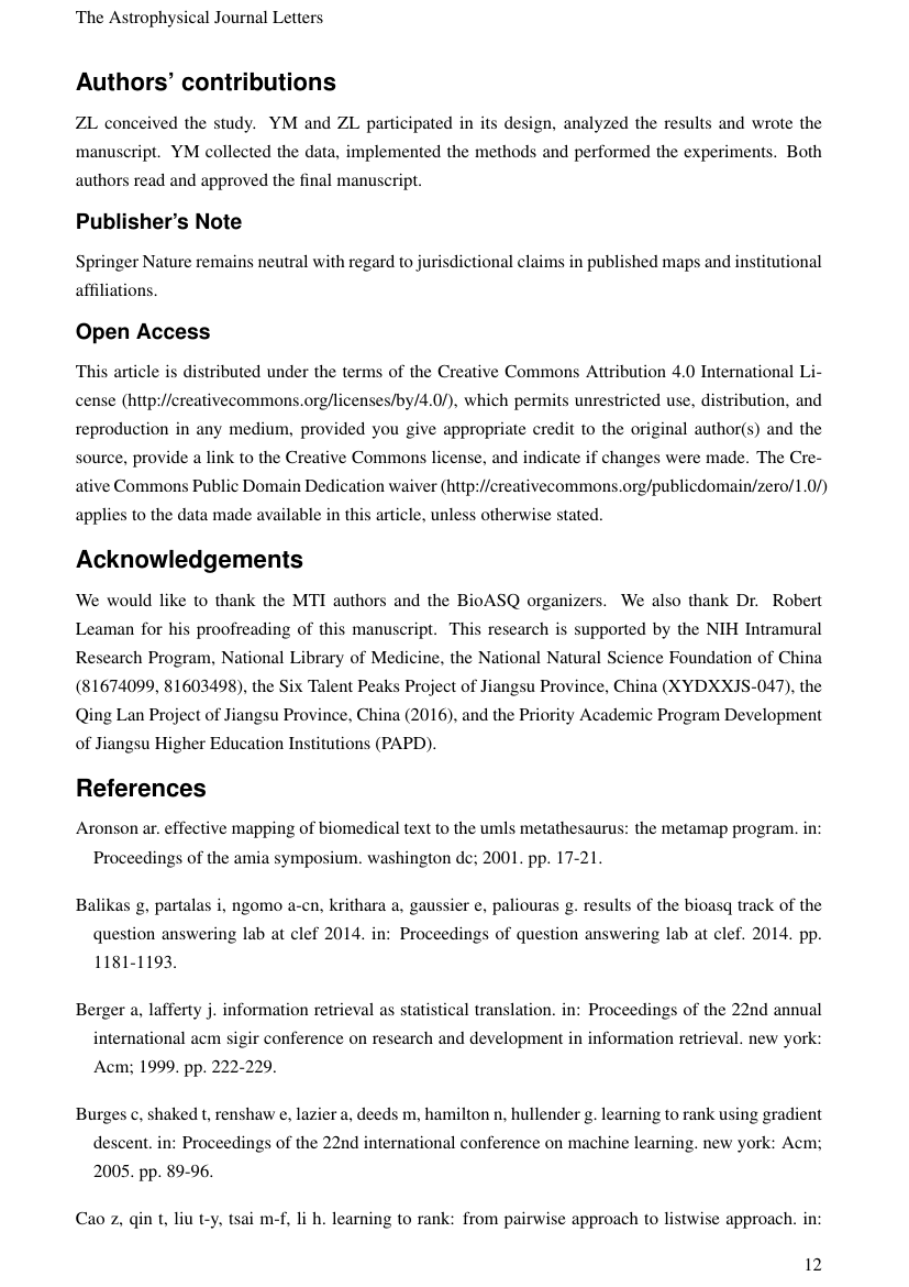 Example of International Journal of Applied Metaheuristic Computing (IJAMC) format