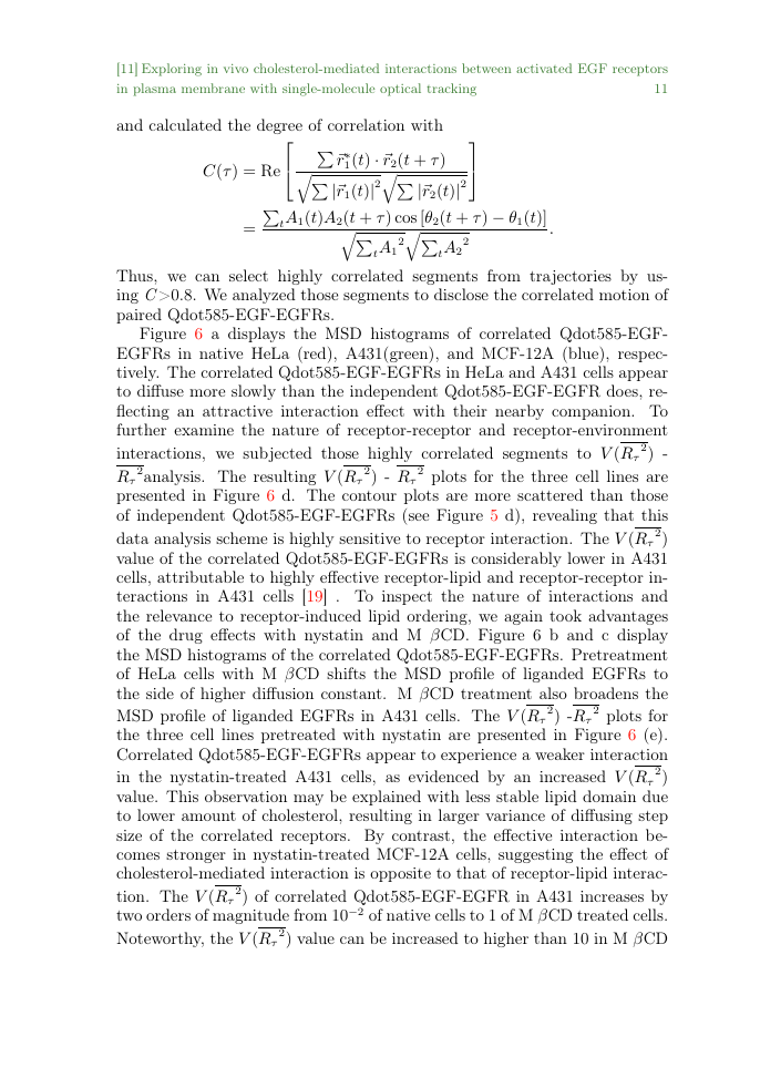Example of Communications in Computational Physics format