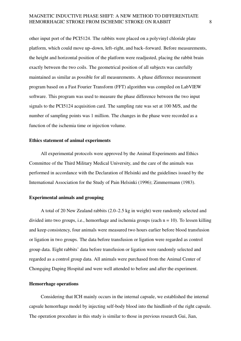 Example of Political Science and International Relations - Thesis/Dissertation Template format