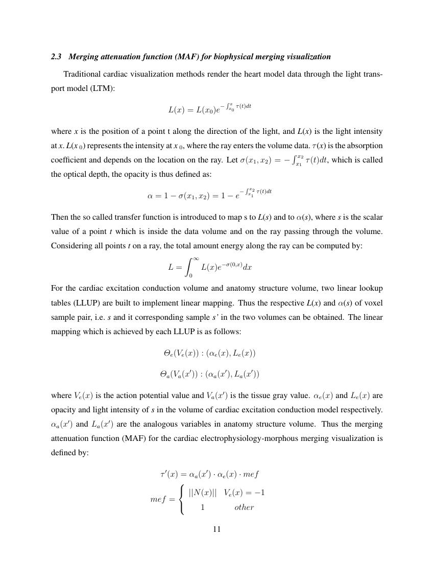 Example of Focaal format