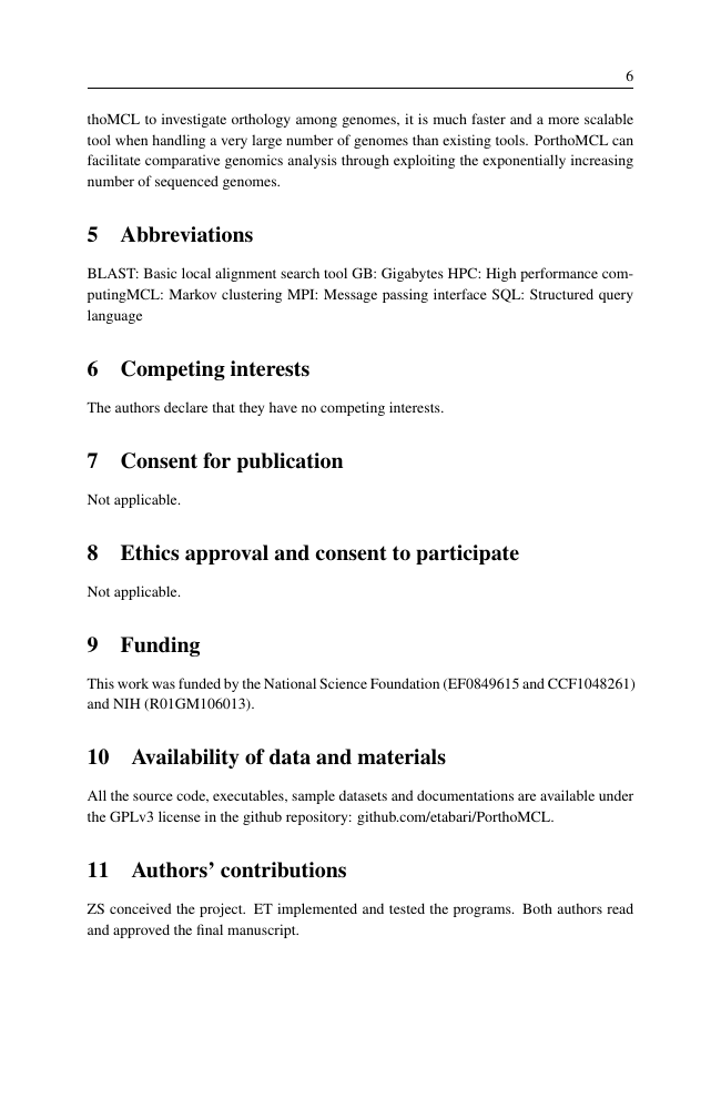Example of African Journal of Ecology format