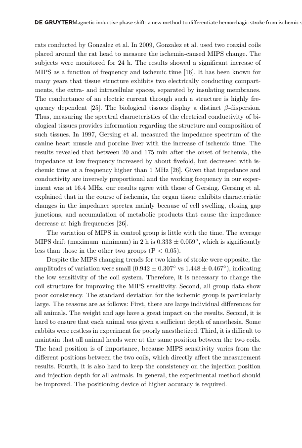 Example of Journal of the Bible and its Reception format