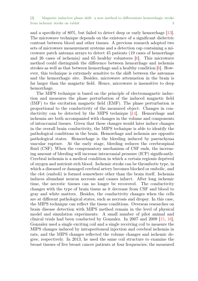Example of Ecclesiastical Law Journal format