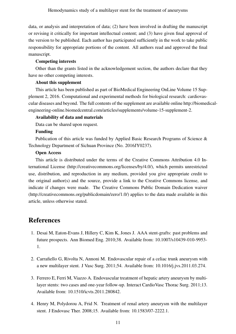Example of International Journal of Advances in Medicine format