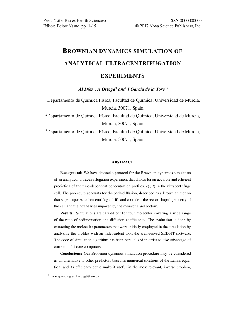 Example of International Journal of Religion and Society format
