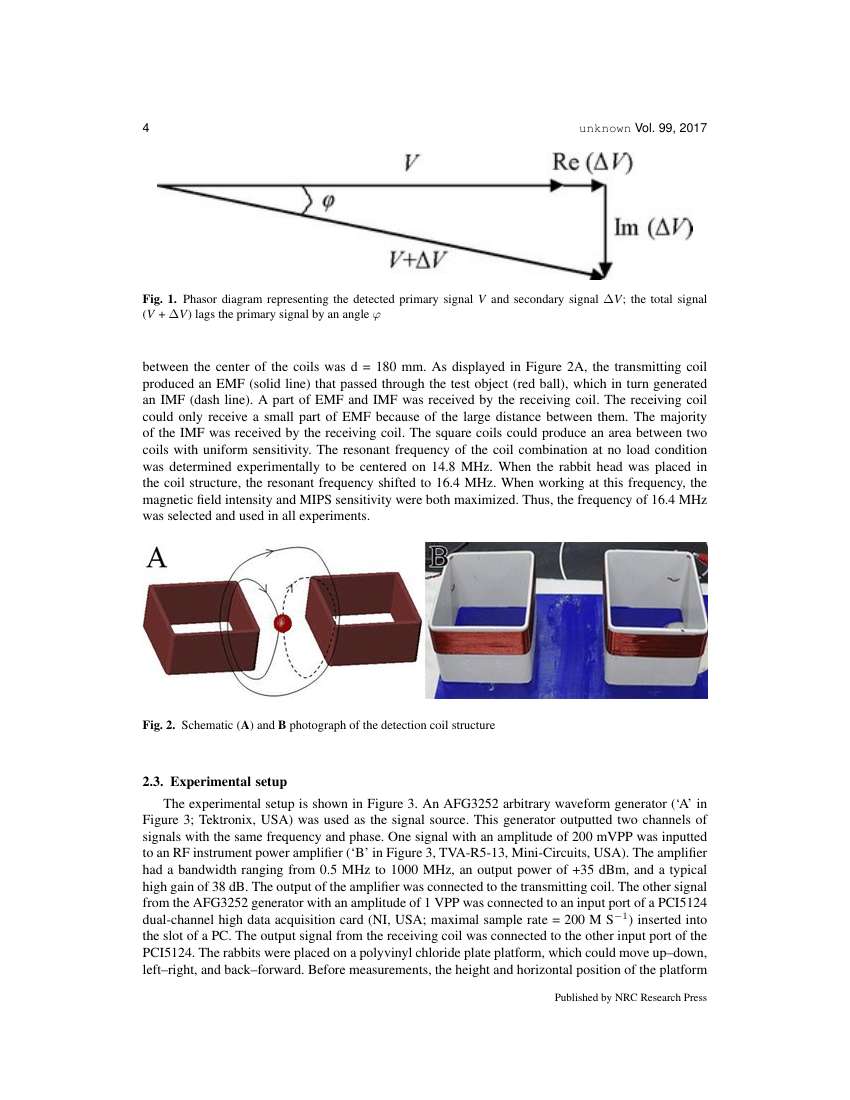 Example of Journal of Unmanned Vehicle Systems format