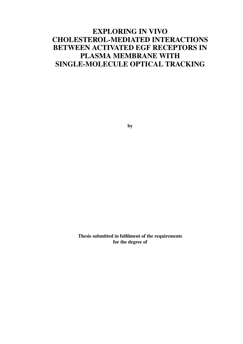 Example of Thesis Template for Universiti Sains Malaysia format