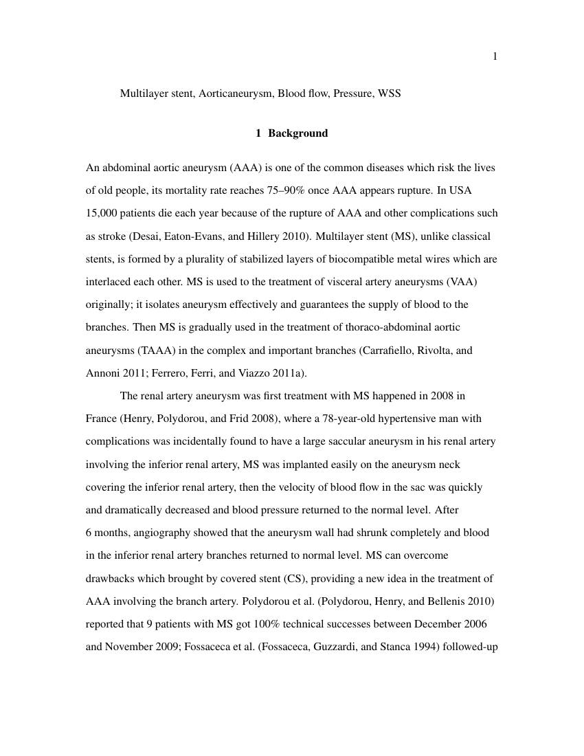 Example of Anthropology - Thesis/Dissertation Template format