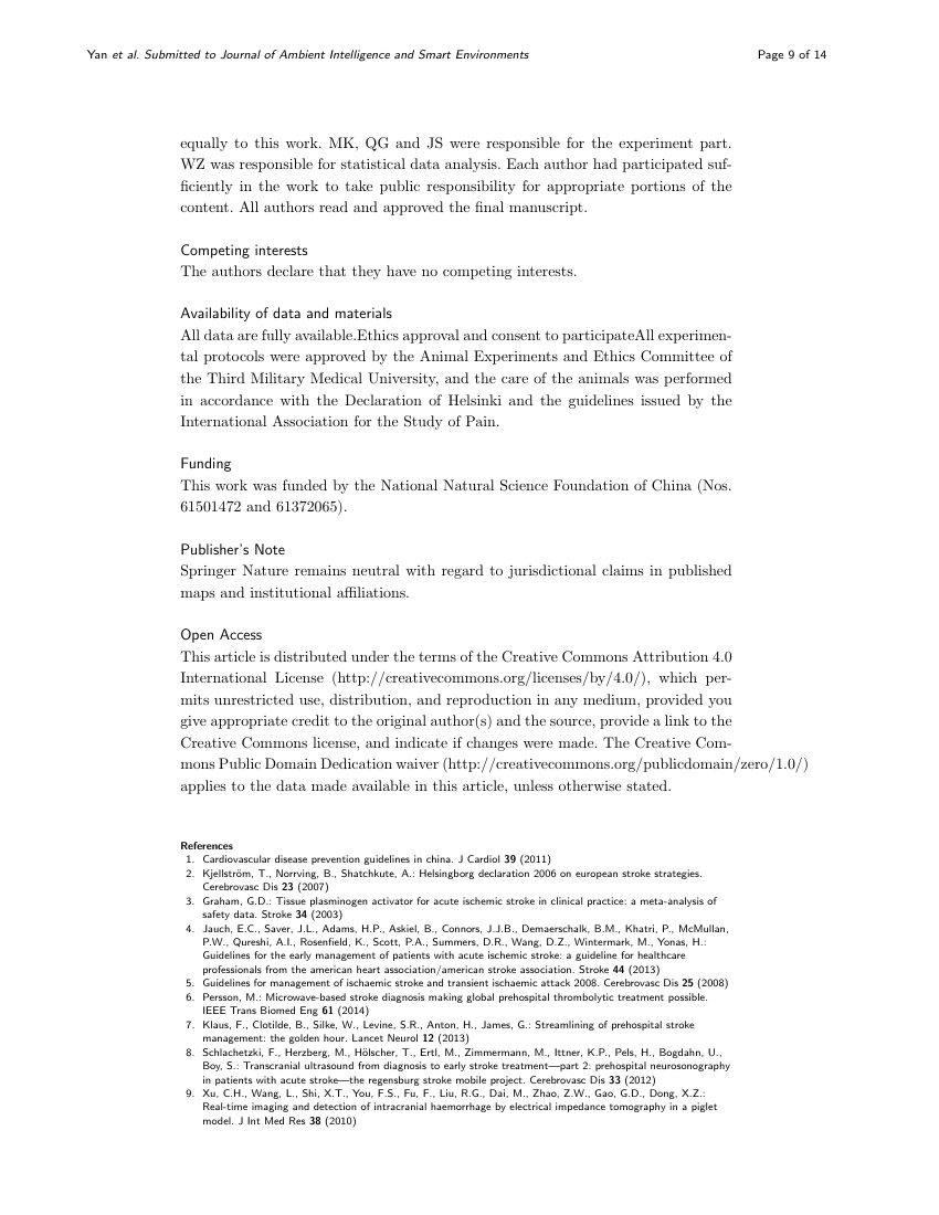 Example of Journal of Pharmaceutical Health Care and Sciences - case report format