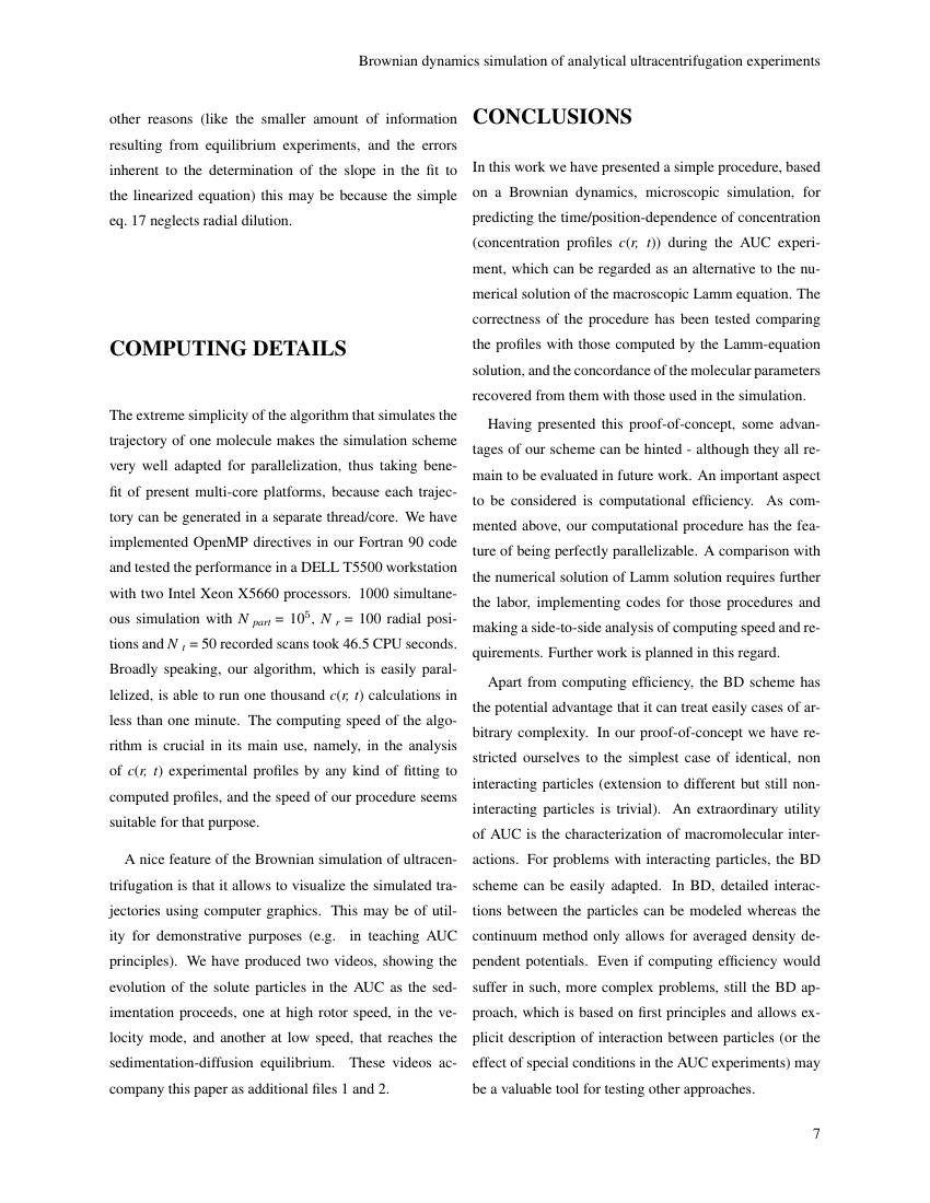 Example of DMFR format