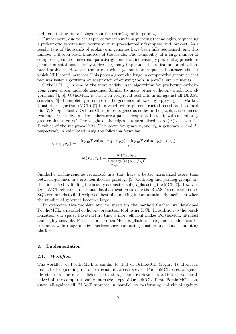 Example of Journal of Applied Water Engineering and Research format