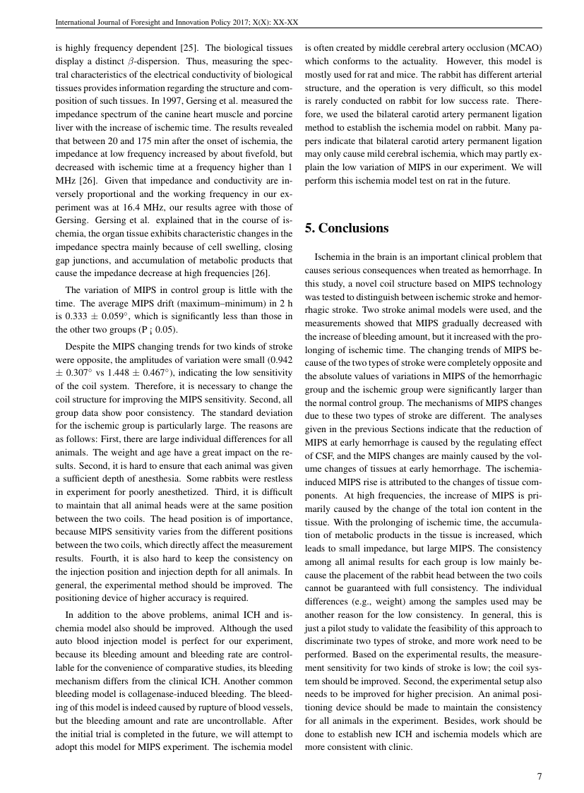 Example of American Journal of Biochemistry format