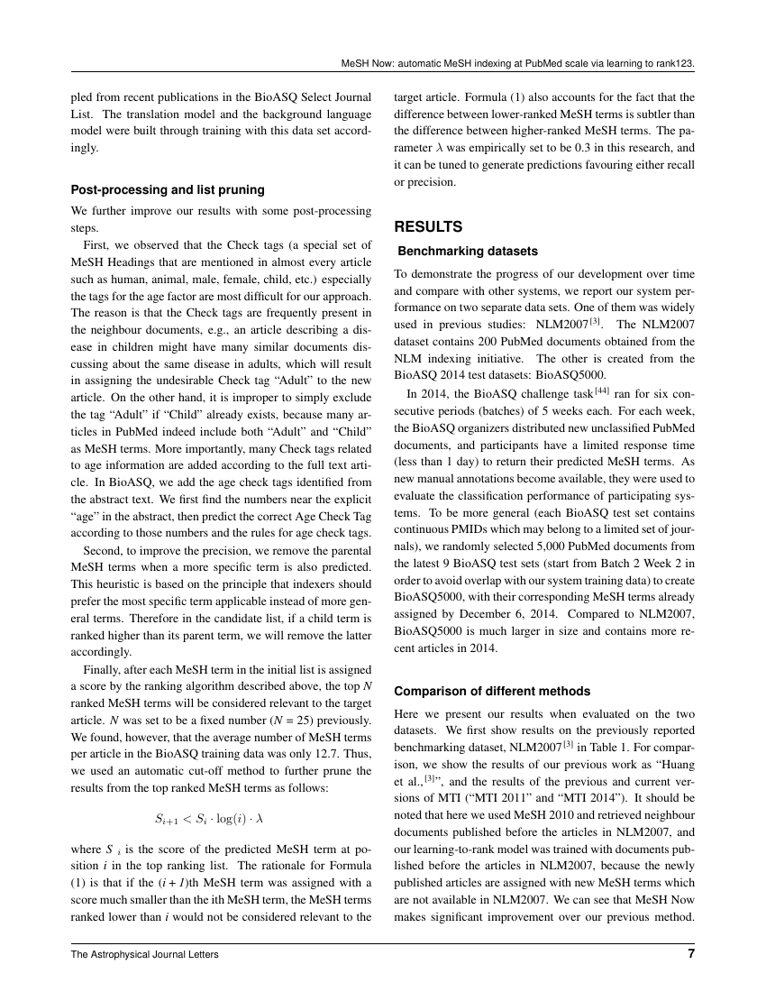 Example of European Journal of General Dentistry  format