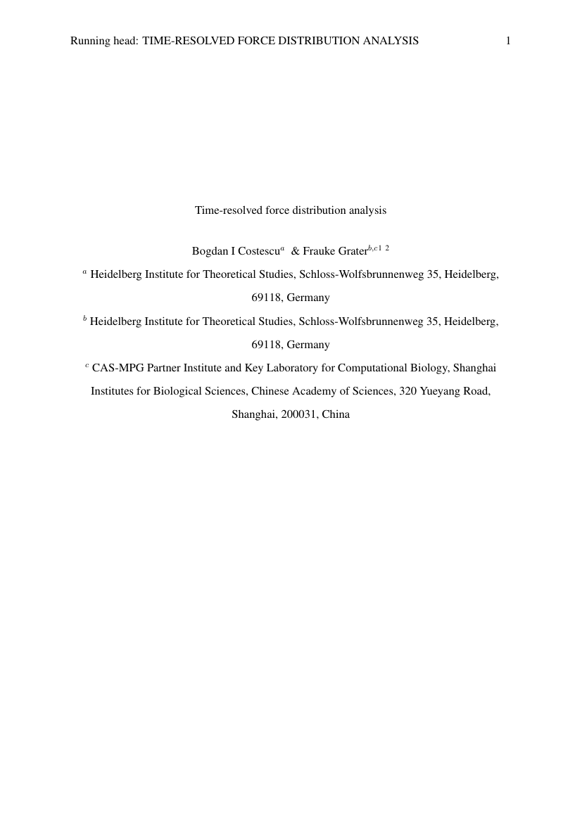 Example of Biomedical Engineering (Assignment/Report) format
