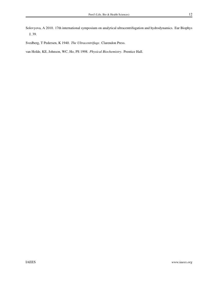 Example of Arthropods format