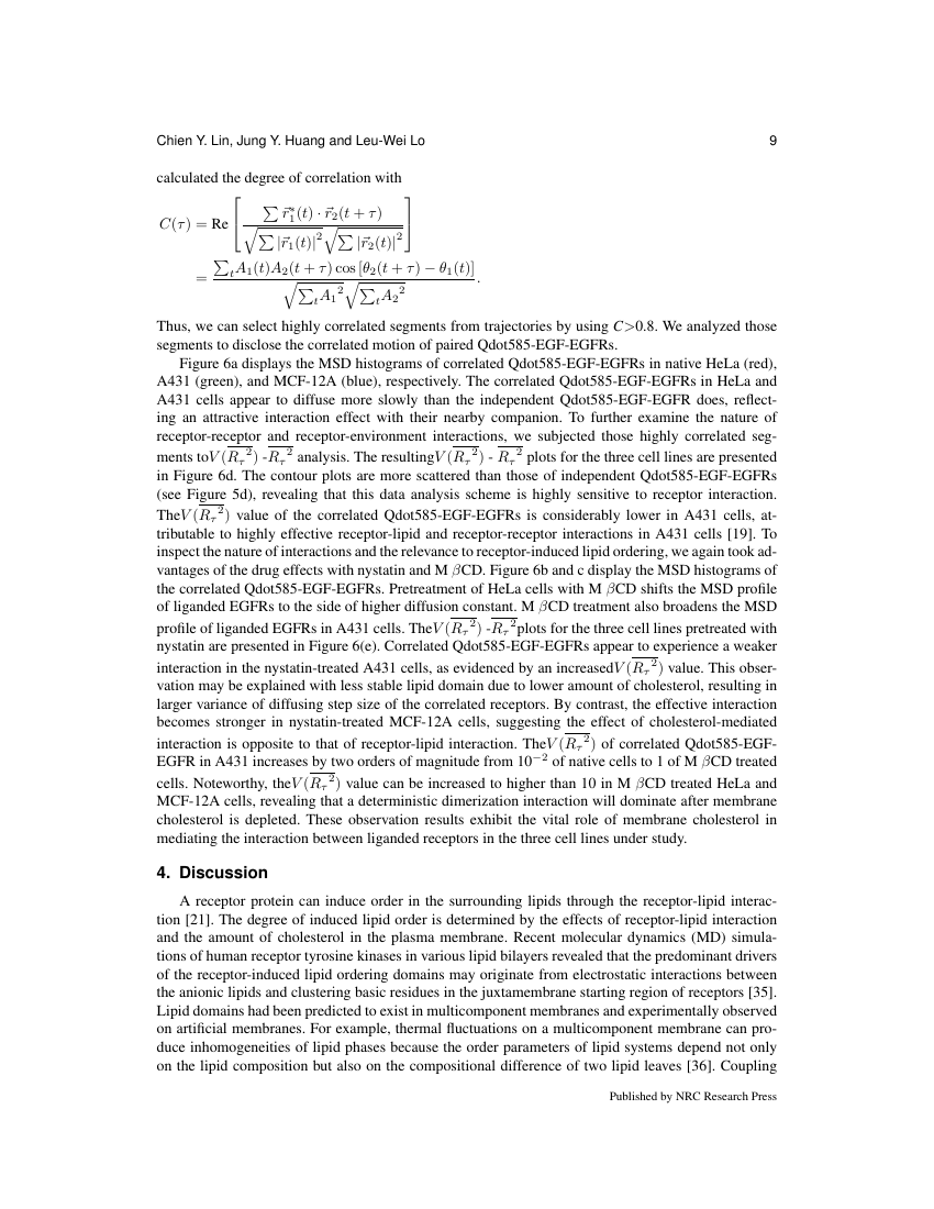 Example of Canadian Journal of Soil Science format