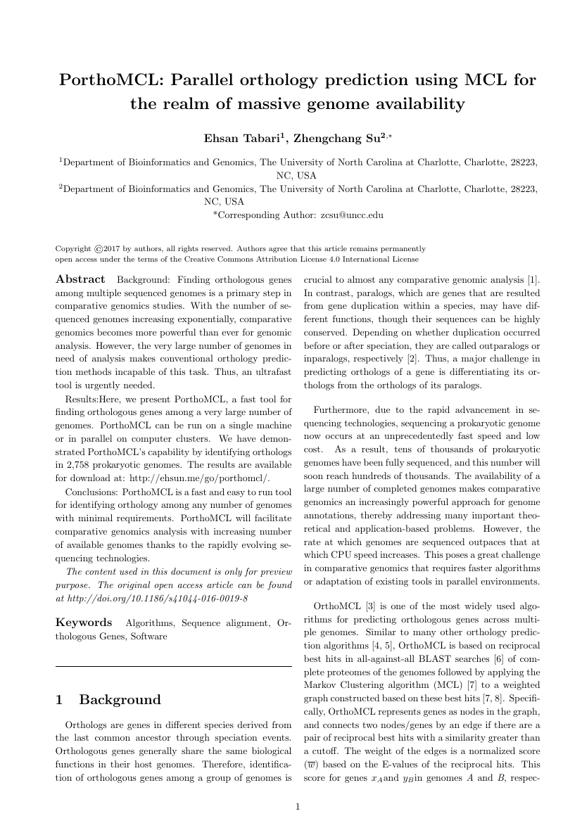 Example of Universal Journal of Applied Mathematics format