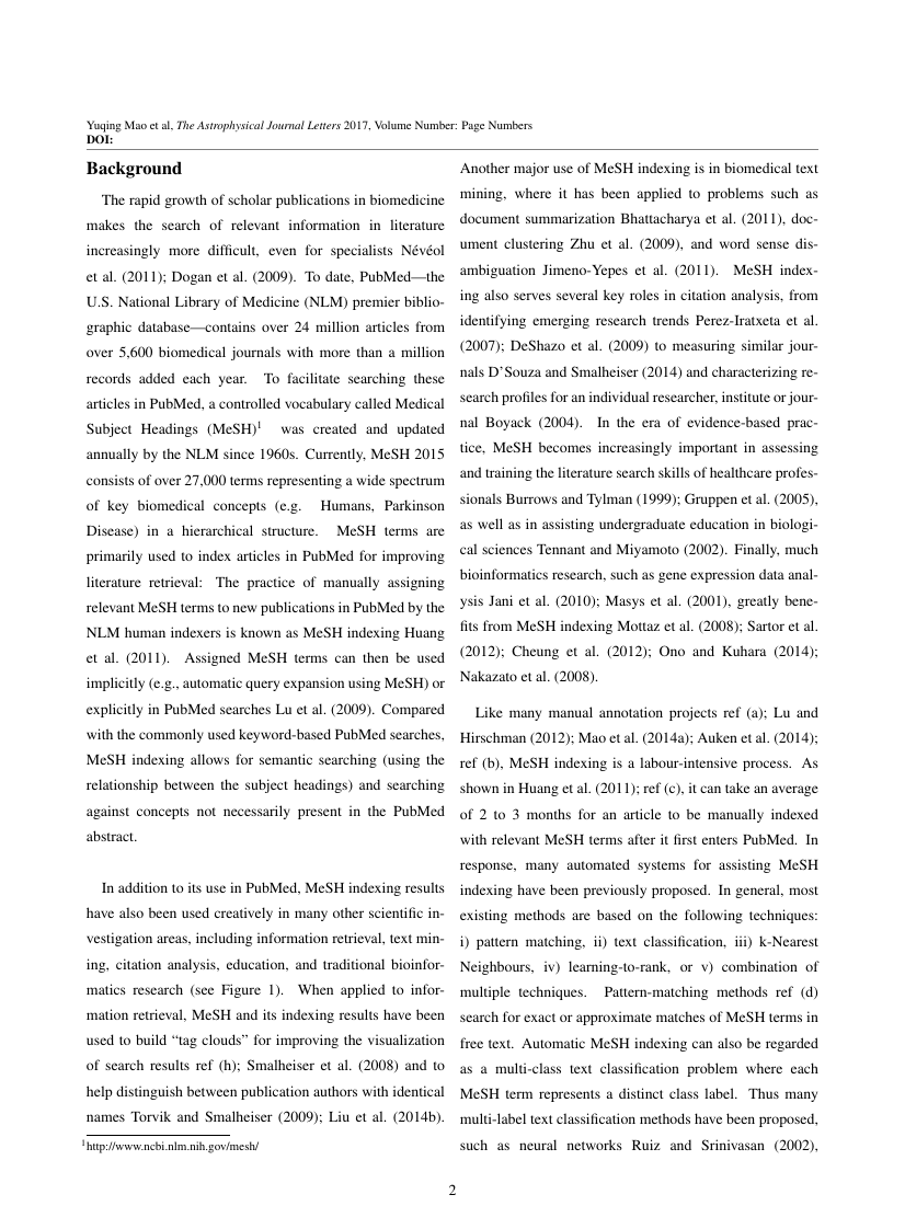 Example of Energy Research Journal format