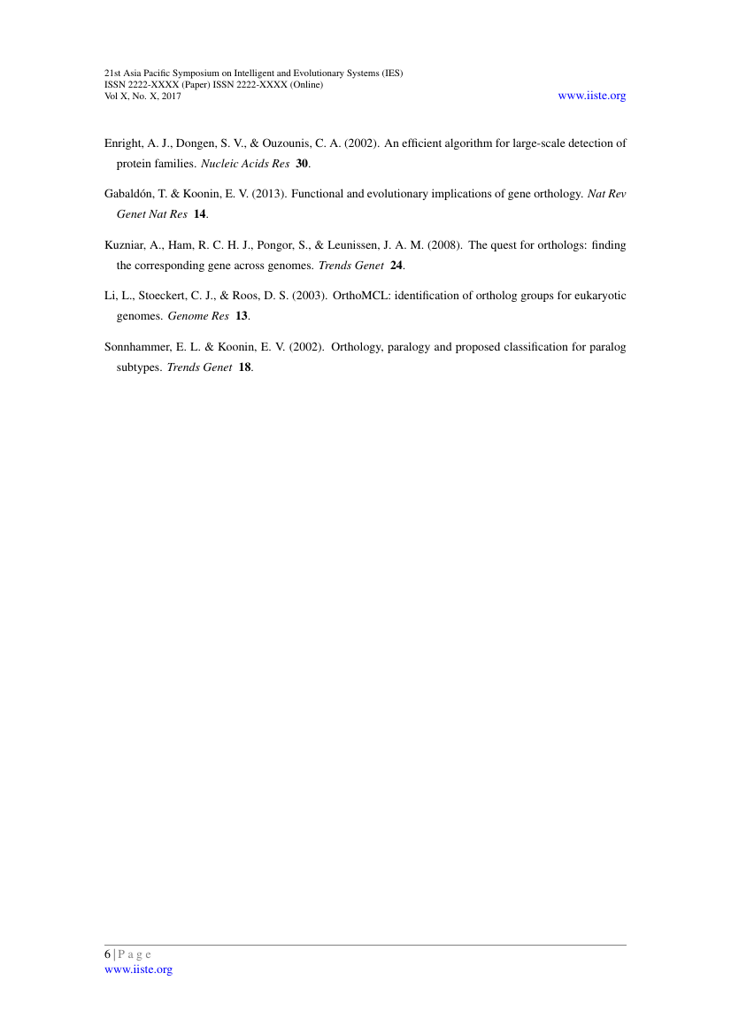 Example of Journal of Natural Sciences Research format