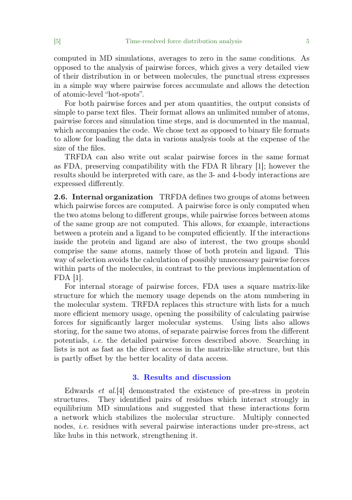 Example of European Journal of Archaeology format