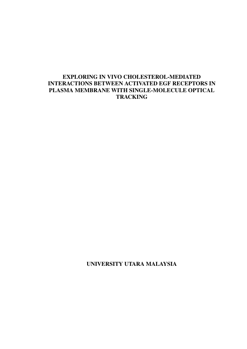 Example of Thesis/Dissertation Template for Universiti Utara Malaysia format